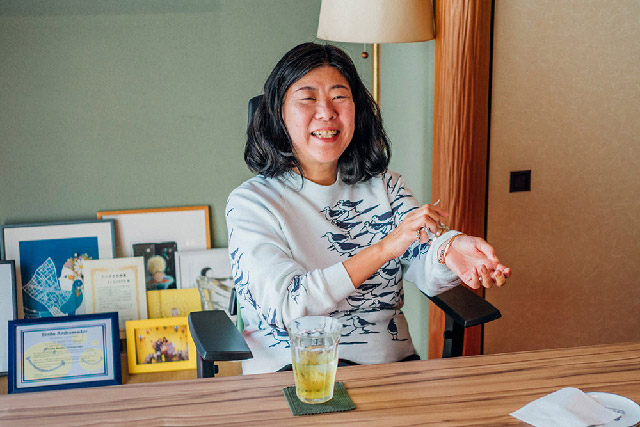 <p>Newsletter Vol.34</p>会員・吉本ばななさんインタビュー(第4回)<br>Interview with Member Banana Yoshimoto (Part 4)<br>Interview avec une membre nommée Banana Yoshimoto (Partie IV)